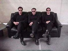 Till Lindemann, Richard Kruspe, and Paul Landers