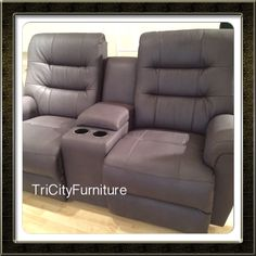 Super comfortable reclining love seat! Dad will love it!