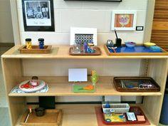 The Brilliant Child (Montessori Classroom) Montessori Classroom, Montessori Activities, Art Classroom, Classroom Design, Classroom Ideas, September Art, Globe Crafts, Shape Collage, Art Lessons For Kids