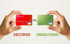 A secured card is basically a card that a cash deposit was applied to the card beforehand and is used as a form of security for the credit card. Unsecured Credit Cards, Credit Rating, Best Credit Cards, Financial Literacy, Have You Ever, Get One, Earn Money, The Borrowers, How To Become