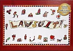 LAWSUIT - A Fun Family Board Game That Peeks Into A Lawyer's Life