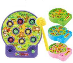 BOHS Dziecko Whac-A Poke A Mole Mole Mole Atak Chomika Muzyka Elektroniczna Plastikowe Zabawki Dla Dzieci Gry