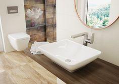 Gardenia top wash basin, Deante.