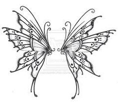 Two butterflies that make one