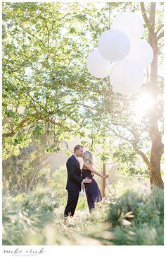 Laguna Beach Engagement - Mike Arick Photography - Balloons