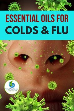 Discover 8 potent essential oils for colds and flu, plus a diffuser blend recipe you can utilize to boost your immune system and fight off infections especially as we approach the cold winter season when the flu is very prevalent. Cold Sore Essential Oil, Essential Oil Blends For Colds, Essential Oils For Congestion, Essential Oil Diffuser Blends, Essential Oil Uses, Doterra Essential Oils, Oils For A Cold, Marker, Oil For Cough