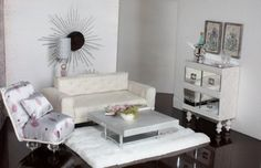 16 scale fashion doll diorama custom made sofa by reallifeminis