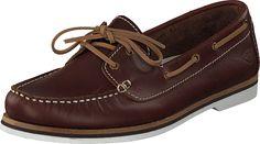 Tamaris - 1-1-23616-26 498 Chestnut Sperrys, Boat Shoes, Equestrian, June, Fashion, Moda, Fashion Styles, Moccasins