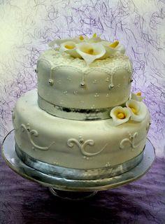 #torta #anniversario #matrimonio #flower  http://www.simocakedesigner.it/