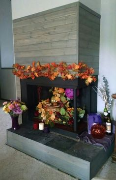 Unused fireplace Unused Fireplace, Modern Fireplace, Best Chicken Coop, Diy Projects For Beginners, Fireplace Decorations, Fireplace Ideas, Real Plants, Fun Hobbies, Modern Design