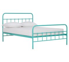 Willow double bed, aqua, from Fantastic Furniture