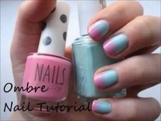 Easy Ombre Nail Tutorial