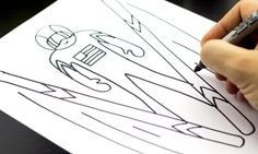 How To Draw A Ski Jumper (with step-by-step printable)