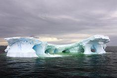 Photographer Steven Kazlowski captures the beauty of icebergs off Antarctica.