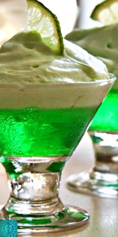 Lime Marlow - a mouthwatering, vintage jello dessert recipe from the 30s and 40s that needs to be resurrected