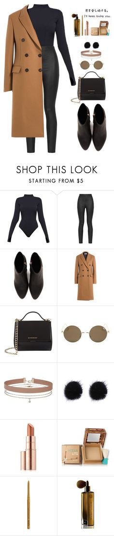 """Untitled #173"" by ihottestpm ❤ liked on Polyvore featuring Ivy Park, Armani Jeans, Alexander Wang, Jil Sander, Givenchy, Miss Selfridge, Estée Lauder, Hoola, NYX and Guerlain"
