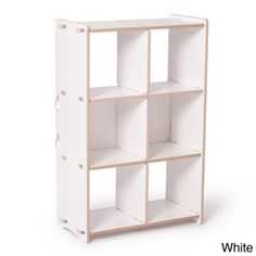 Sprout Kids 6-cubby Storage Shelf   Overstock.com