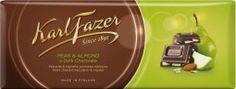 Item No.56-401656 - Pear & Almond Dark Chocolate Bar 200g