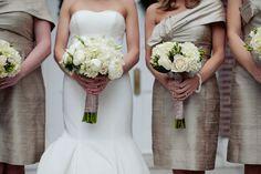The Village Chapel of Pinehurst Front Entrance: Bride & Bridesmaids bouquets