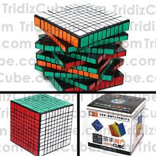 10x10x10 ShengShou Black Puzzle Cube Twisty Toy 10x10 Smooth New - US SELLER -