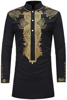 Nice  Bekleidung, Herren, Streetwear, Trainingsanzüge Dashiki For Men, African Dashiki, Wedding Suit Styles, Wedding Suits, African Attire, African Wear, African Style, African Dress, Mens Tunic