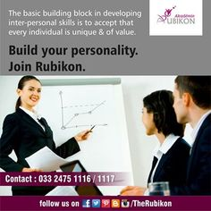 Build your personality with The Rubikon! ‪#‎TheRubikon‬ ‪#‎groom‬ ‪#‎confidence‬ ‪#‎attitude‬ ‪#‎diction‬ ‪#‎personality‬ ‪#‎interview‬ ‪#‎meeting‬ ‪#‎ace‬ ‪#‎career‬