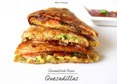 Caramelised Onion Quesadillas