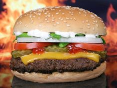 Air Fryer Hamburger | PRICKLY GOURMET