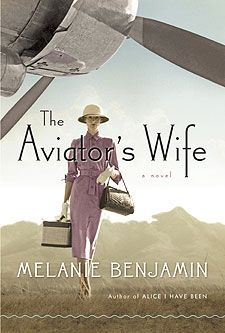 The Aviator's Wife by Melanie Benjamin.  Intriguing - now I need to read a bio of Lindbergh to find out how much is real!