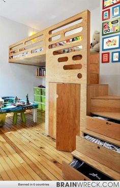 Wait Till You See What These 17 Parents Did To Their Kids Rooms. I'm Insanely Jealous - Brainwreck - Your Mind. Blown.