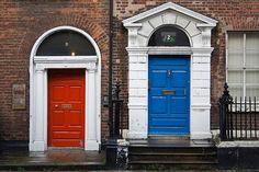 Portes Traditionnelles - Dublin - Ireland