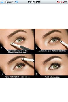 How to make your eyes look brighter! Makeup Tips and tricks