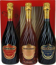 Geschenkdoos Tsarine Assortiment Brut-Rosé-Vintage - Champagne A.O.P. | Dewit Wijnen