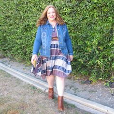 Western Chic with Avenue: Wear it Now, Wear it Later | Designing From My Closet | Plus