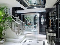 finest selection 692db d1321 Benetti 65 - Silver Angel. This grand staircase is truly breathtaking as  you enter this