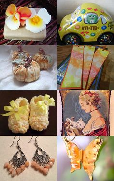 Peaches and Cream by Julie on Etsy--Pinned with TreasuryPin.com