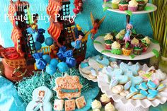 Worth Pinning: Pirate Fairy Party Details Zarina tinkerbell diy sugar cookies