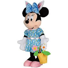 Disney  Easter Minnie Mouse With Bunny Ears