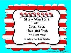 4th Grade Frolics: Work on Writing Ideas +  Freebies