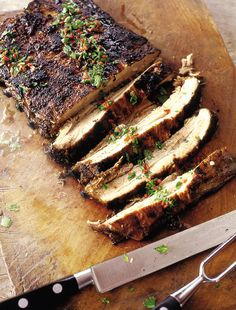 Southern barbecued pork belly_    This recipe is an absolute breeze and gives you the most wonderful melting pork belly with a gorgeous smoky, spicy flavour.