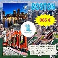 ¿Quieres visitar una de las ciudades más bonitas de Norteamérica?, ¡¡escríbenos!!