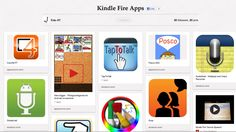 Kindle Fire Apps board for Assistive Tech from Caiu AT