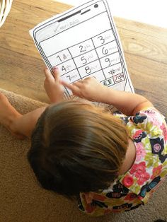 Toddler Approved!: In Case of Emergency: Memorizing Phone Numbers