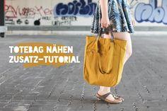 Du willst eine coole und praktische Tasche nähen, die du als Rucksack oder Handtasche tragen kannst? Hier findet ihr die Anleitung für einen Totebag-Rucksack. Das Totebag Tutorial ist für Nähanfänger und Fortgeschrittene und mit vielen Fotos versehen. Viel Spaß beim Nähen!