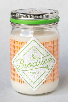 Bougie parfumée carotte Boutique en ligne décoration