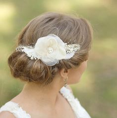 LeFlowers handcrafted bridal accessories