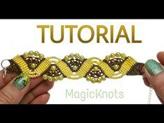 Micro macrame Sunshine bracelet ( DIY) - YouTube