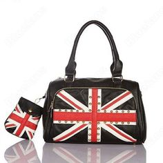 13c737d5cfa5 Discount China china wholesale The British Flag Fashion Bag Tote Shoulder Bag  Handbag Faux Leather Ladies