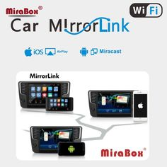 Mirabox Car WiFi Airplay for Allshare Cast DLNA Airsharing Miracast Wireless Display MirrorLink Box For iOS10/9 and Android