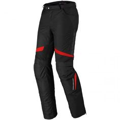 Spidi X-Tour H2Out Pants Black / Red. 2 in 1 pants made of highly resistant fabric